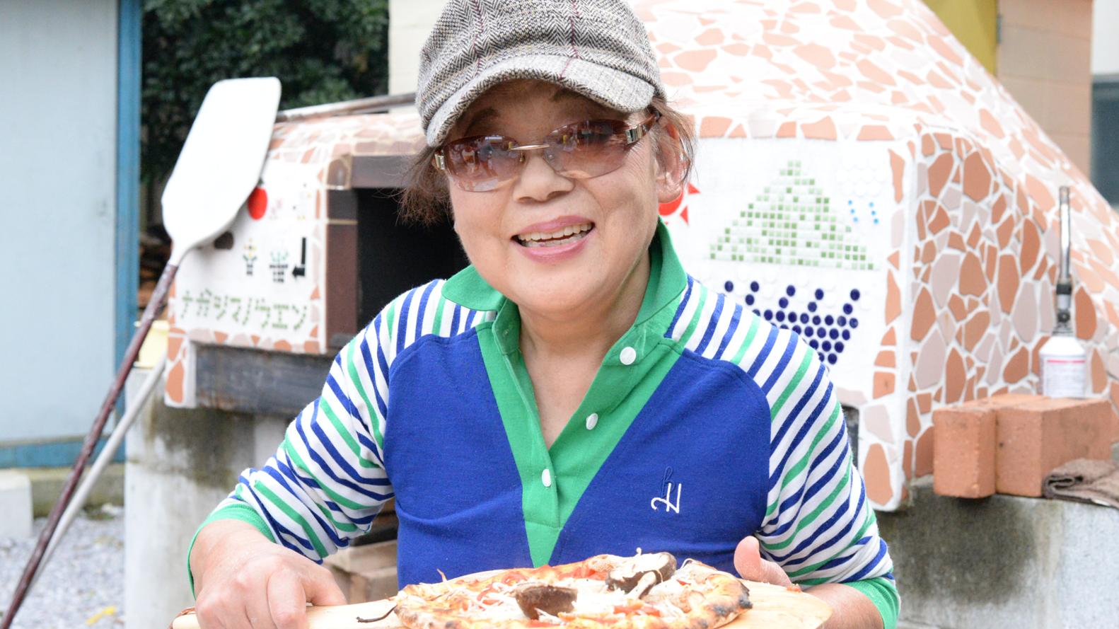 行って来ました永島農園、焼いてきました椎茸ピザ!@摘み取り椎茸と持込具材で本格ピザ作り